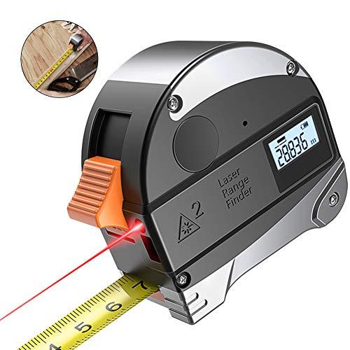 Traioy 30M Digital Laser Rangefinder 5 m / 16 ft Medidor Distancia Cinta métrica, medidor Buscador Rango Herramientas...
