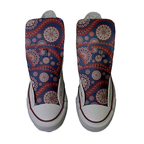 Paysley Converse Personalizados Handmade Zapatos producto Star All Vintage xqxA6O0n