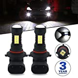 9006 fog lights - Viesyled 9006 HB4 LED Fog Light Bulbs or DRL Super Bright 1200LM 3030 36-SMD 6000K White Projection