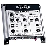 BOSS AUDIO BX45 2/3-way Pre-Amp Electronic Crossover with Remote Subwoofer Level Control