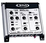 BOSS Audio BX45 2/3 way Pre-Amp Car Electronic Crossover with Remote Subwoofer Control