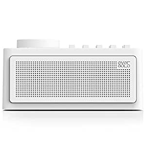 Zidoo Eversolo Sleep Therapy Sound Machine - All Natural White Noise for Sleep Include Fan, Rain, Stream, Ocean - Ten White Noises Support Mix- Wireless Speaker