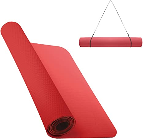 combinación helado entrega a domicilio  Nike Fundamental Yoga Mat 3 mm Yoga Mat, Unisex, N.YE.02.675.OS, lt  crimson/anthracite, One Size: Amazon.co.uk: Sports & Outdoors