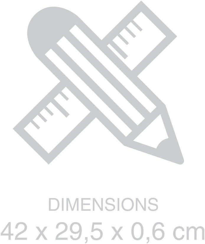 Balvi/-/Tableau/magn/étique/Einkaufsliste./Id/éal/pour/la/Porte/du/frigo./Inclut/Un/marquer/et/Une//éponge./Taille/42x30/cm.