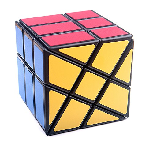 wheel windmill magic speed cube puzzles abs ultra smooth master twist cube brain teaser toys christmas birthday gifts by ykl world black