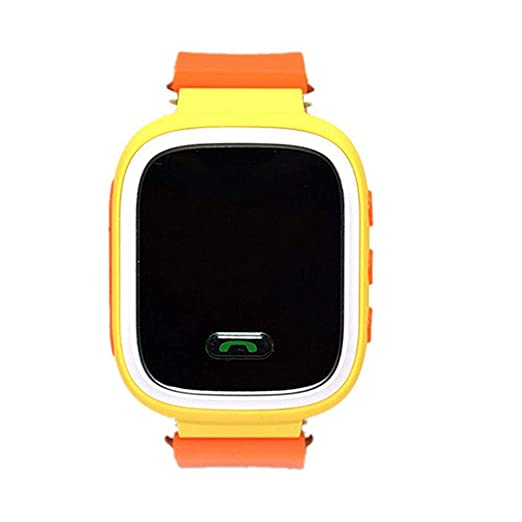 Amazon.com: Global Positioning Touch Color Screen GPS Childrens Smart Watch WiFi Children Positioning Watch (Orange): Cell Phones & Accessories