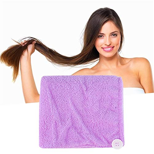 Familyhan Womens Girls Lady's Magic Quick Dry Bath Hair Drying Towel Head Wrap Hat Makeup Cosmetics Cap Bathing Tool