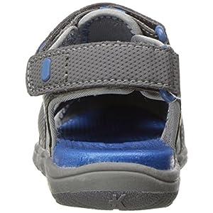 See Kai Run Boys' Lincoln II Water Shoe, Gray, 11 M US Little Kid