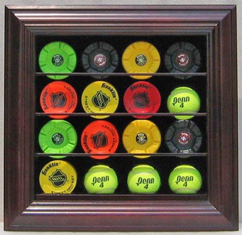 hockey puck wall display case - 5
