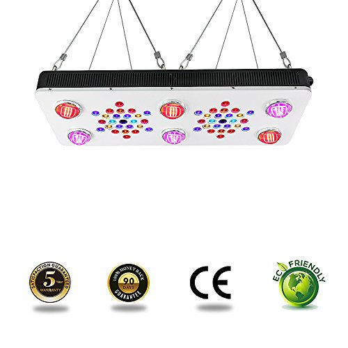 BloomBeast C850 850w LED Grow Lights 12-Band Full Spectrum with UV & IR Dimmable Hydroponics Plants Grow Light by BloomBeast