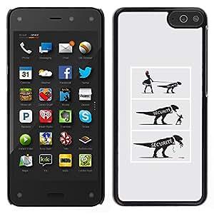 LECELL--Funda protectora / Cubierta / Piel For Amazon Fire Phone -- COMIC dinosaurio divertido --