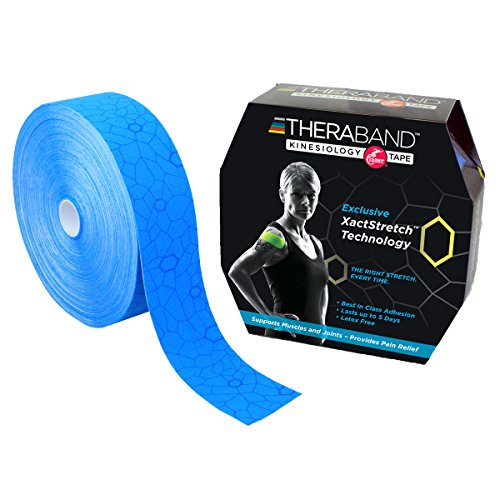 TheraBand Kinesiology Tape, Waterproof Physio Tape for Pa...