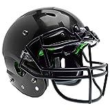 Schutt Sports Vengeance A3 Youth Football Helmet (Facemask NOT Included), Black, Medium