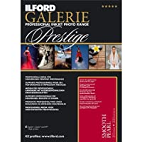ILFORD GALERIE Prestige Smooth Pearl - 5 x 7 Inches 100 Sheets (2001744) High-Density Heavyweight Professional Inkjet Photo Range Paper with HDR Instant Dry Nanoporous Surface