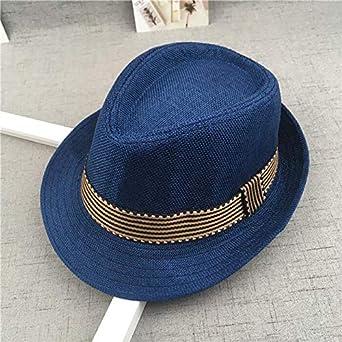 Baby/'s Straw Caps Jazz Bucket Summer Girls Boys Panama Photography Props Hats