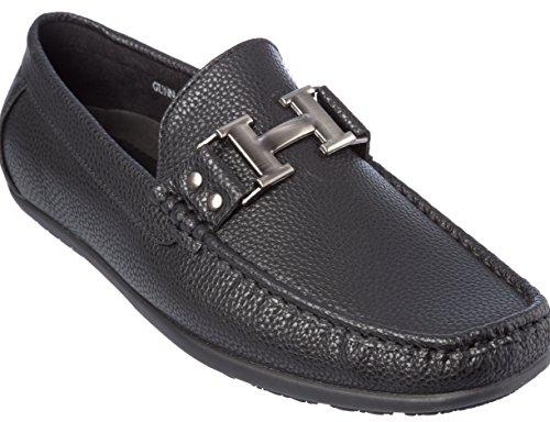 Brix - Zapatillas Slip-on, Holgadas A La Moda, Negras
