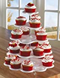 Kyпить 5 Tiered Tower White Cupcake Holder Stand на Amazon.com