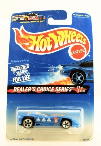 Hot Wheels - Dealer's Choice Series - Silhouette II - Wild Card Paint Job - Collector #565 - Limited Edition - ()