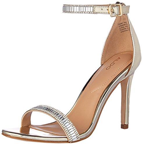 Aldo Women's Sevoredia Dress Sandal, Gold, 6.5 B - Aldo Glasses