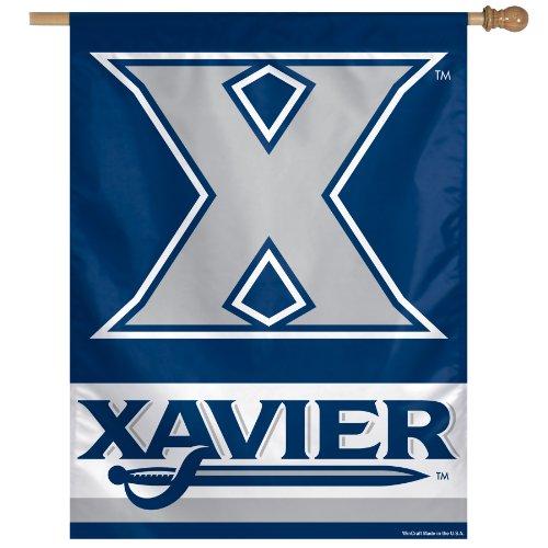 (Wincraft NCAA Xavier Musketeers Vertical Flag, 27 x 37-Inch)