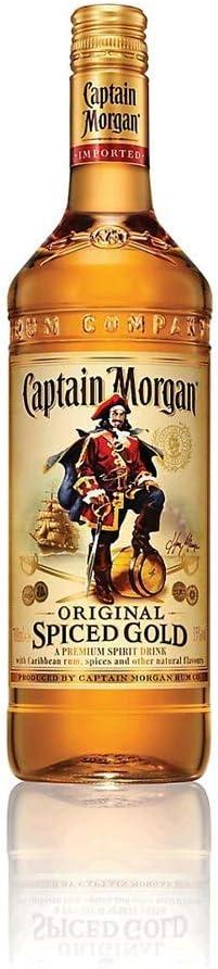 Capitán Morgan original 70cl Spiced Gold (Paquete de 70cl ...