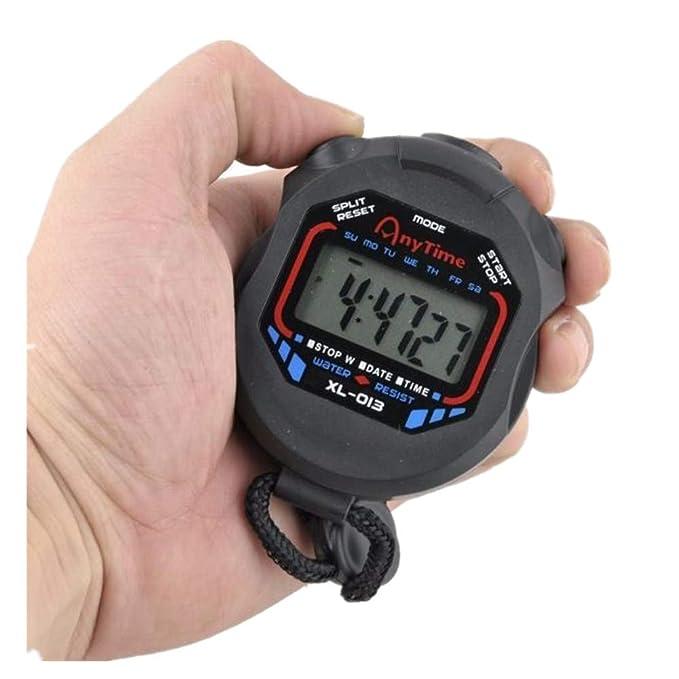 QinMMROPA LCD Digital Pantalla Grande Alarma Temporizador de ...