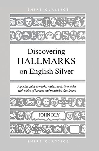 Discovering Hallmarks On English Silver  Shire Discovering