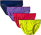 Fruit of the Loom Women's 4 Pack Breathable Bikini Panties