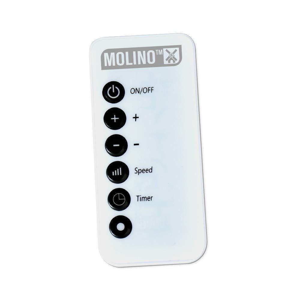 Chauffage nomade orientable MOLINO 500 W avec t/él/écommande Blanc