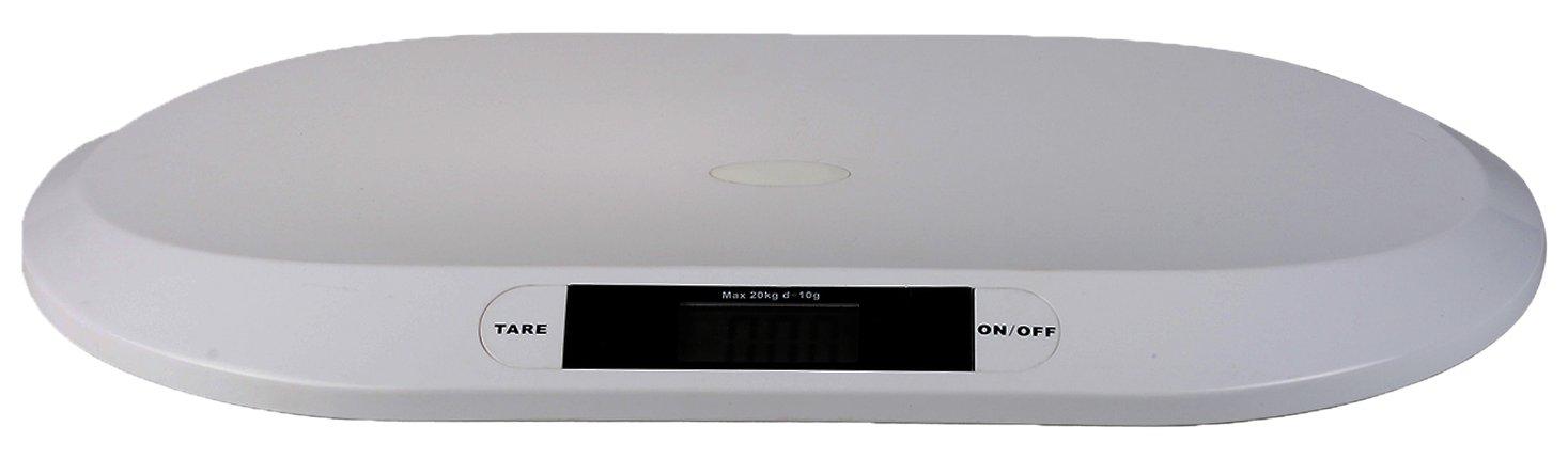 Topcom WG-2490 - Báscula para bebé, color blanco Tristar