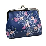 things under 1 - Wallet,toraway Vintage Womens Froral Wallet Card Holder Coin Purse Clutch Handbag