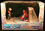ERIC LINDROS / PHILADELPHIA FLYERS & ANDY MOOG / MONTREAL CANADIENS 1998 NHL * Freeze Frame One-On-One * Starting Lineup Action Figure Deluxe Box Set
