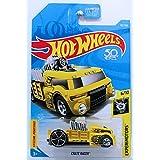 Hot Wheels 2018 Basic Mainline Experimotors - Crate Racer (Yellow/Black)