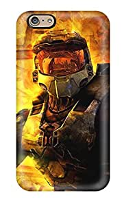 Iphone 6 Well Designed Hard Case Cover Halo Protector