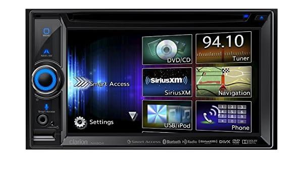 Clarion NX604 Negro 72W Bluetooth Receptor Multimedia para Coche - Radio para Coche (Negro, 2 DIN, 72 W, 4.0 Canales, 18 W, DVD,DVD+R,DVD+RW,DVD-R,DVD-RW): ...