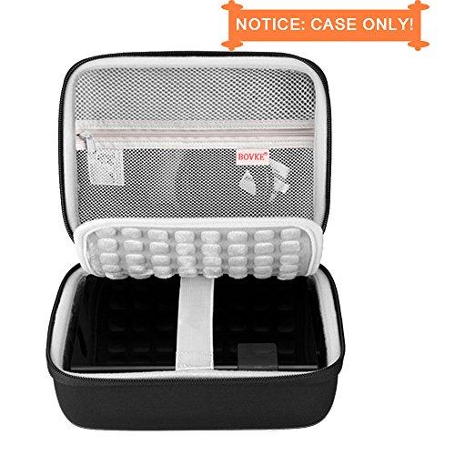 BOVKE Protective Case for Seagate Expansion Desktop,Western Digital WD My Book/Elements Desktop External Hard Drive USB 3.0,2TB 3TB 4TB 5TB 6TB 8TB Carrying Case Storage Travel Bag, Black by BOVKE (Image #5)