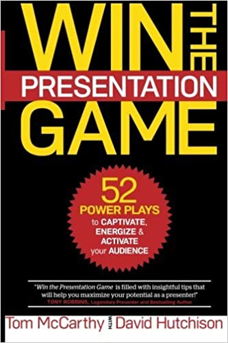 Book Win the Presentation Game: 52 Power Plays to Captivate, Energize & Activate your Audience by Thomas McCarthy (2015-11-24)
