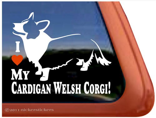 Cardigan Welsh Corgi Window Sticker