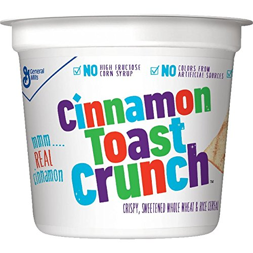 General Mills Cinnamon Toast Crunch Cereal, 2-Ounce Cups (Pack of 60)