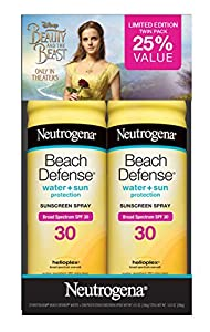 Neutrogena Beach Defense SPF 30 Spray Twin Pack, 13 Ounce