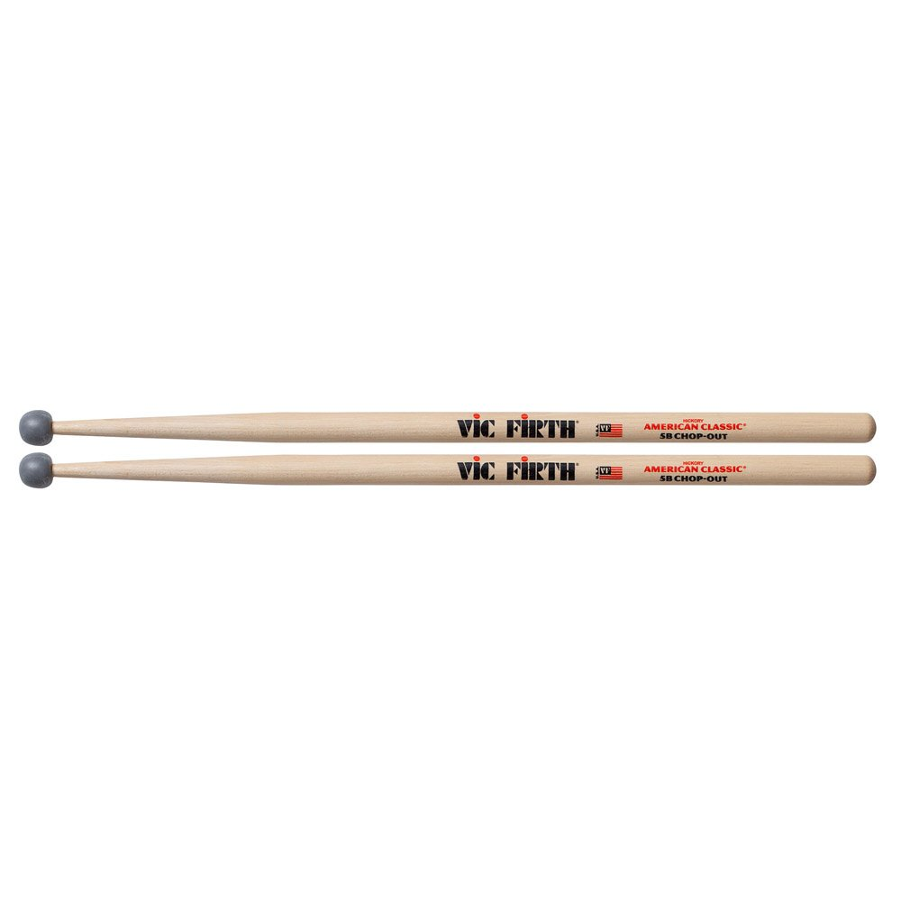 Vic Firth Practice Sticks with Rubber Tip 5B KMC Music Inc 5BCO