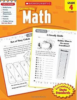 Scholastic Success with Math Tests, Grade 4 (Scholastic Success with ...