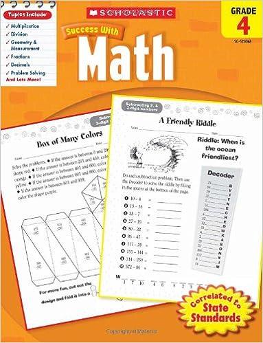 Amazon.com: Scholastic Success with Math, Grade 4 (Scholastic ...