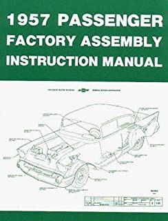 1957 chevrolet chevy passenger car factory assembly instruction rh amazon com