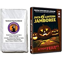 AtmosFearFX Jack-O-Lantern Jamboree Halloween DVD and Reaper Brothers High Resolution Window Projection Screen