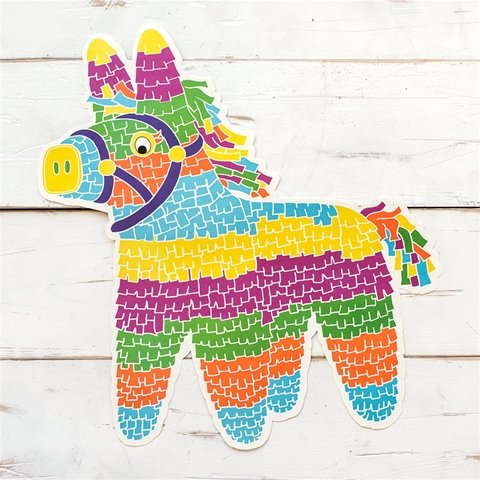 Hester and Cook Piñata Die-Cut Paper Placemat - Pad of 12