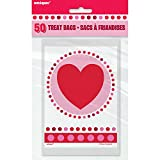 Radiant Hearts Valentine's Day Goodie Bags, 50ct