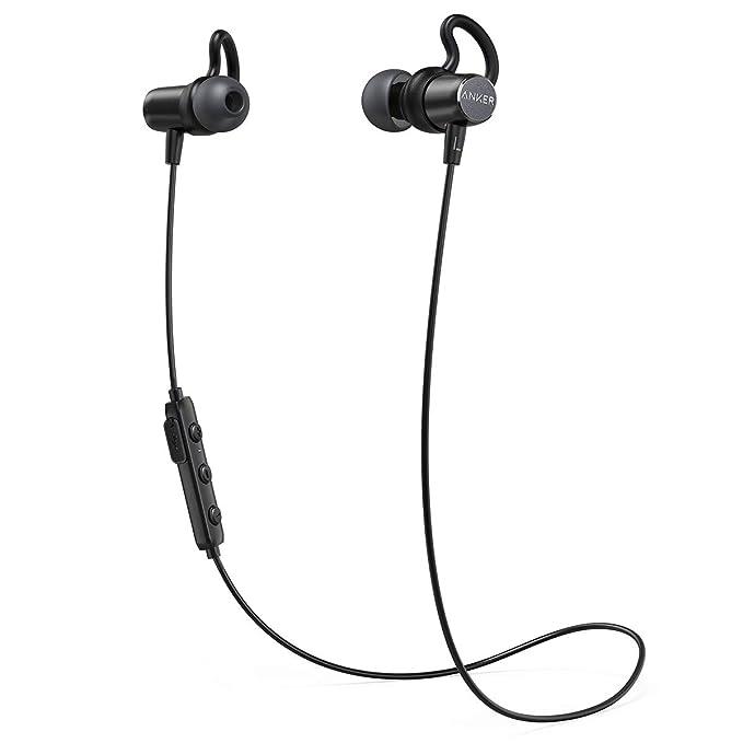 902dec8858c Anker SoundBuds Surge Lightweight Wireless Headphones, Bluetooth 4.1 Sports  Earphones with Water-Resistant Nano