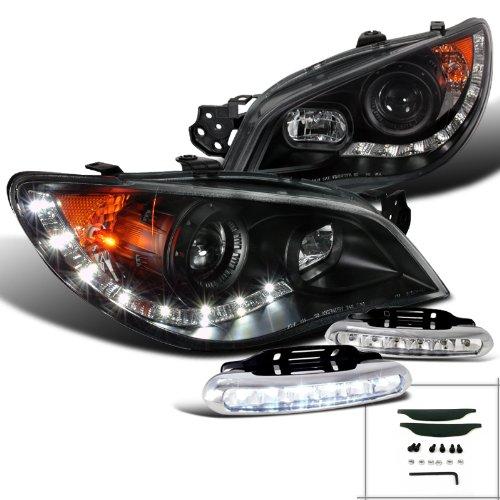 Subaru Impreza Black Projector Headlights