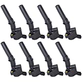 Ignition Coil Complete Set of 8 w/ LIFETIME WARRANTY for Ford Lincoln 4.6L 5.4L 6.8L V8 Compatible with DG508